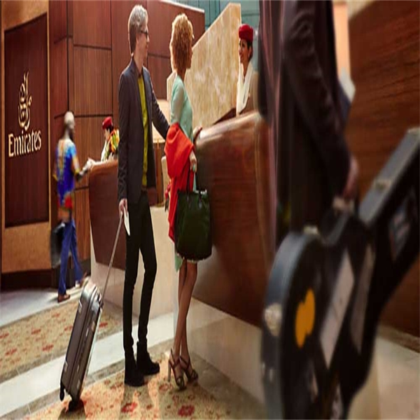 Emirates lounge access i Dubai från 100 USD