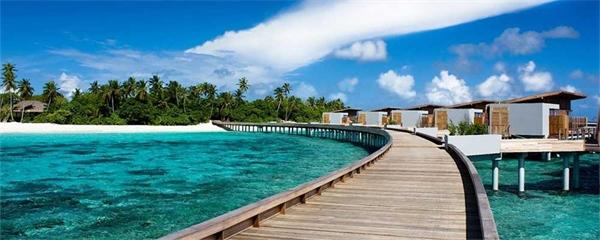 Lars nyfunna pärla på Maldiverna