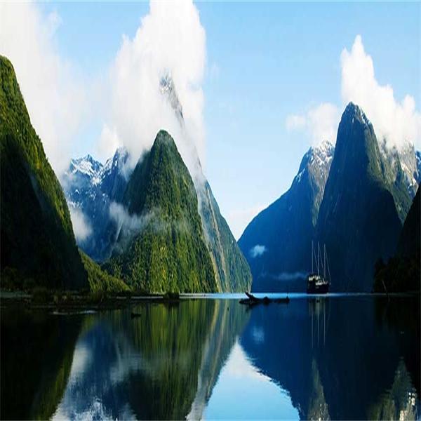 The land of the long white cloud - Nya Zeeland