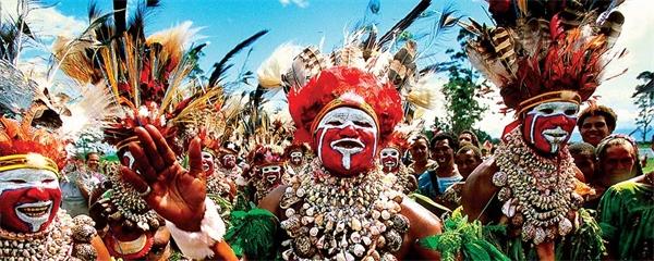 5 intryck av Papua Nya Guinea