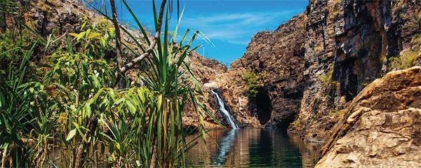 Världsarvet Kakadu National Park i norra Australien