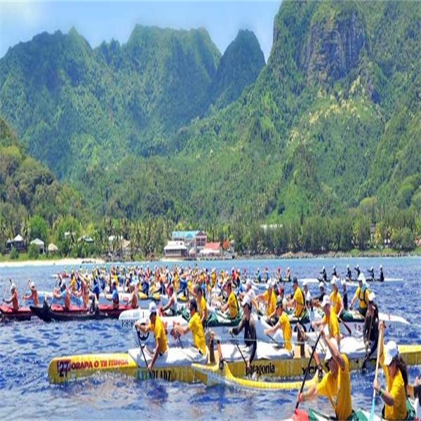 Vaka Eiva - årets sportevent på Cooköarna