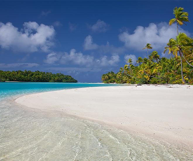 Aitutakis vackra lagun sägs vara en av de vackraste i världen - en oförglömlig upplevelse!