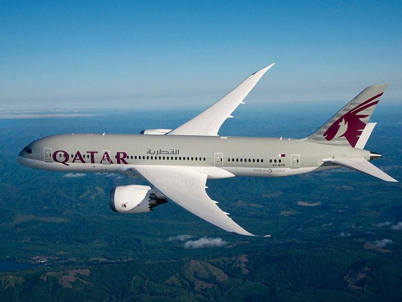 Qatar-Airways flygmaskin